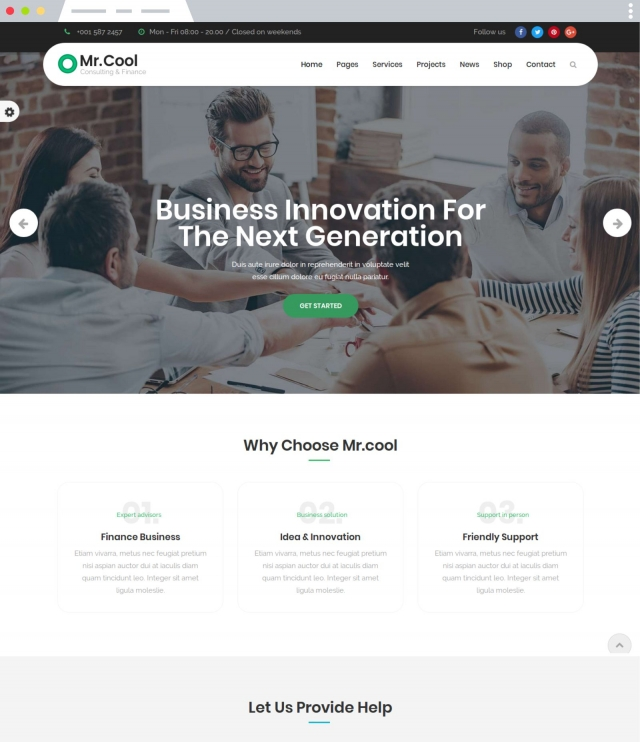 Mr.Cool - Joomla Template